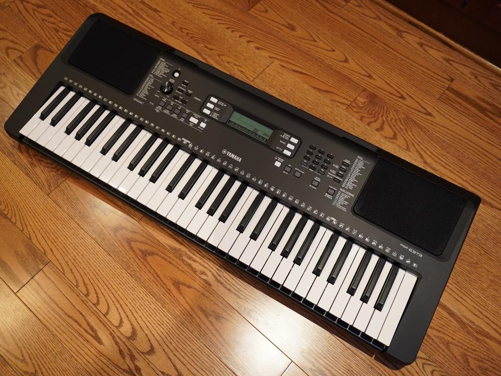 Le PSR-e373 de Yamaha