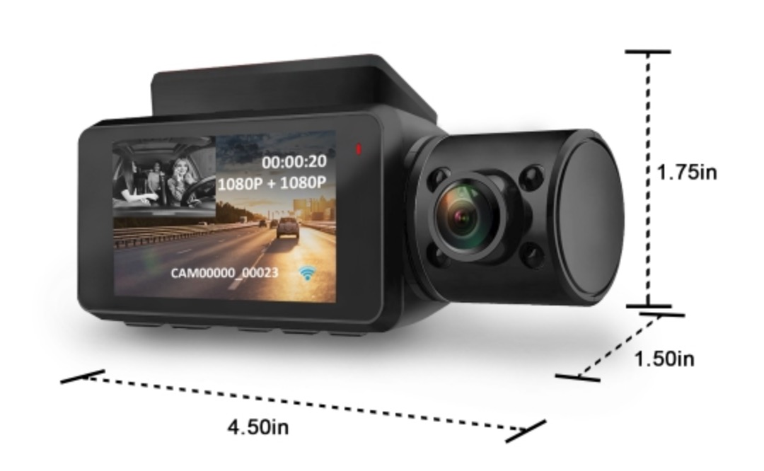 Caméra de tableau de bord