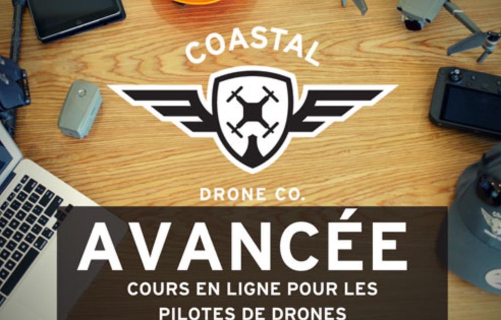 Cours de pilotage Coastal Drone