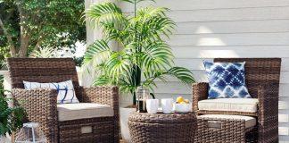espace extérieur patio