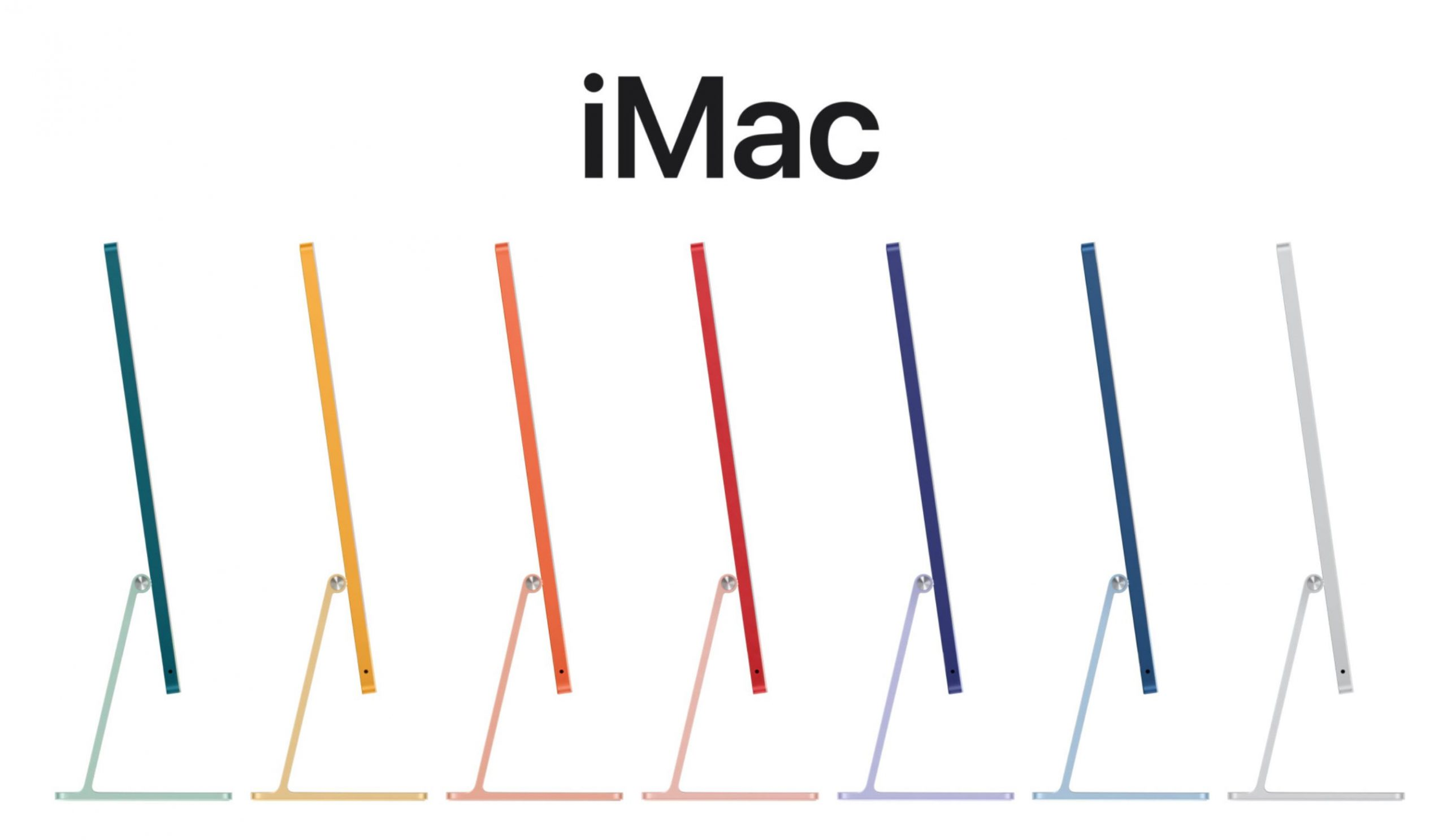 Image of iMac 2021 from Apple