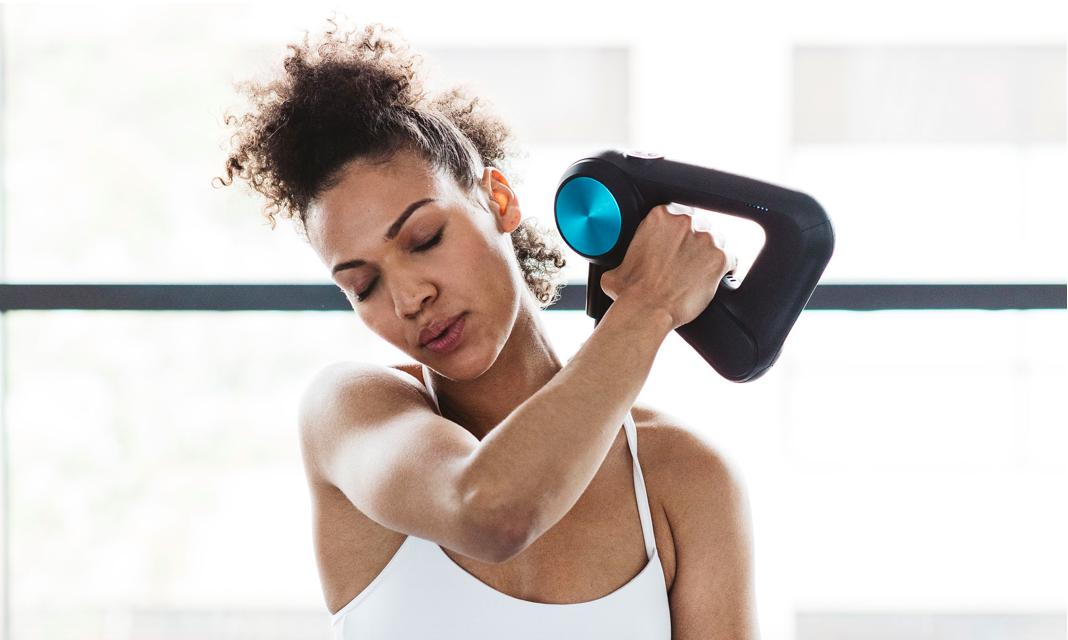 Utiliser un appareil de massage après l'entrainement