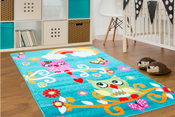 Un nouveau tapis pour la chambre de bébé