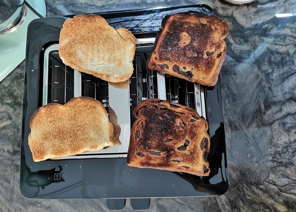 Grille-pain tactile à longues fentes de Cuisinart 4 tranches