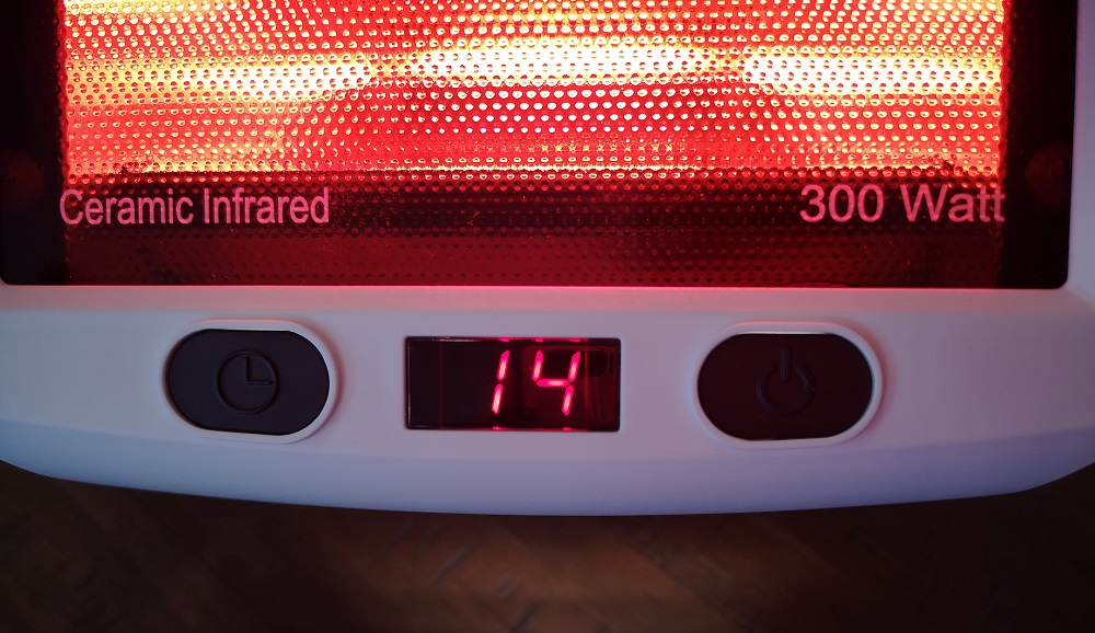 Diffuseur de chaleur infrarouge de Beurer