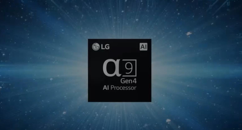 Processeur alpha9 de LG