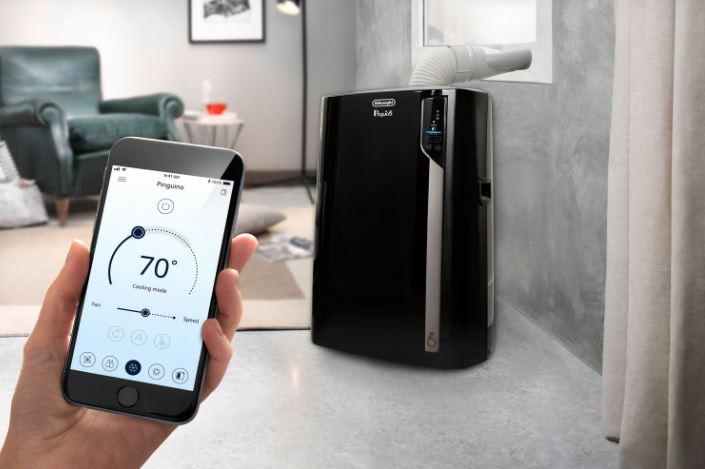 Application climatiseur portatif