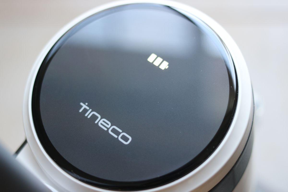 Écran de l'aspirateur vertical pour dégâts humides/secs sans fil iFloor 3 de Tineco
