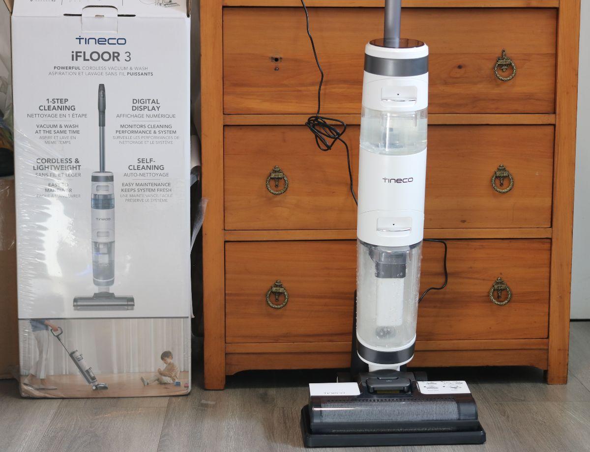 Aspirateur vertical pour dégâts humides/secs sans fil iFloor 3 de Tineco
