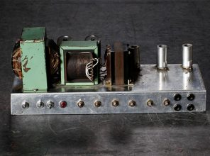 Intérieur d'un ampli à lampes