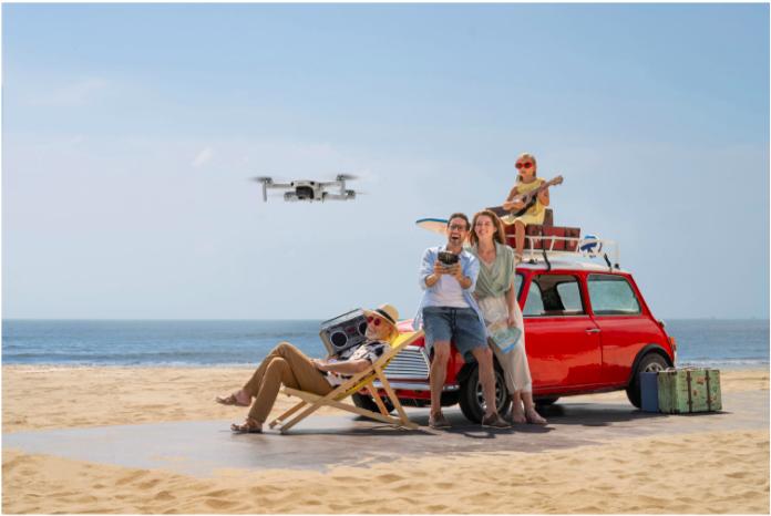 Amusez-vous en famille avec un drone