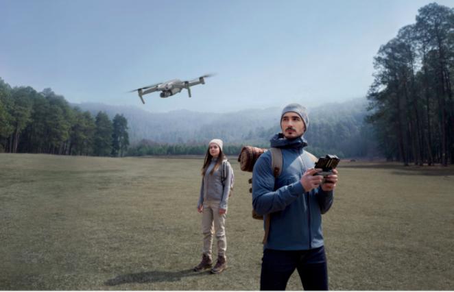 Une drone pour des photos et des vidéos spectaculaires