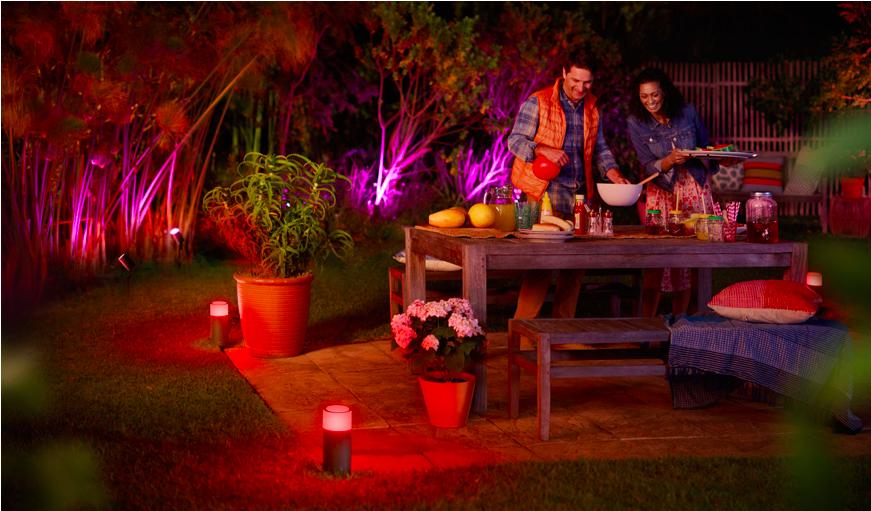 Mettez de l'ambiance dans vos soirées grâce à l'éclairage intelligent