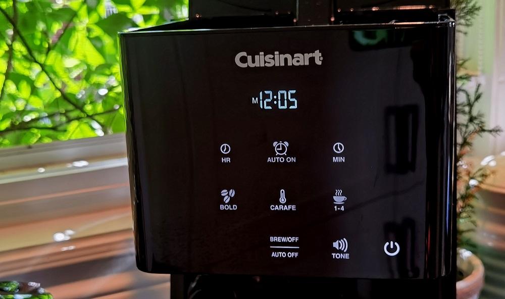 Cafetière programmable tactile de Cuisinart