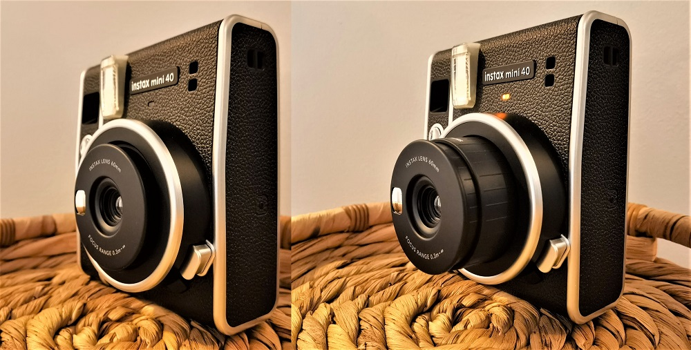 lentille Instax Mini 40 de Fujifilm