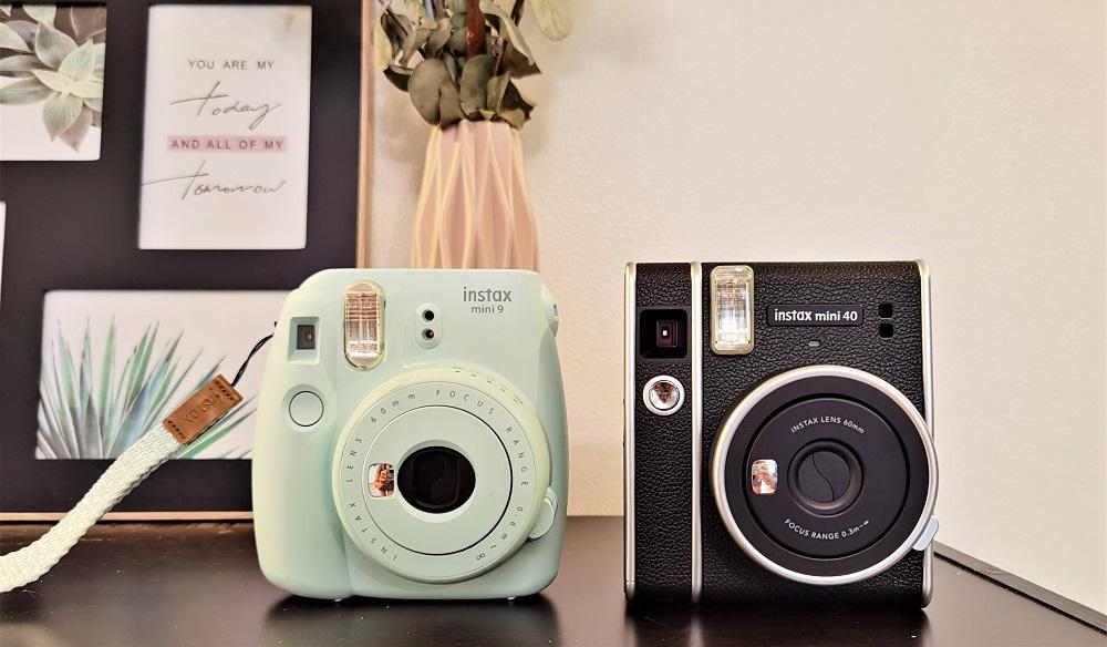 Instax Mini 40 de Fujifilm et instax mini 9