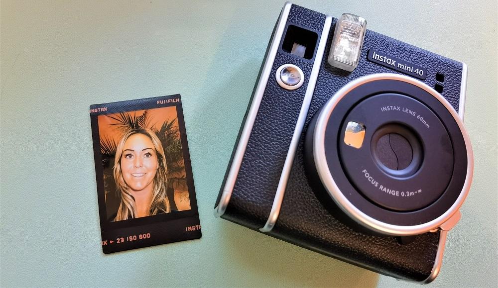 Instax Mini 40 de Fujifilm Myriam Larouche-T