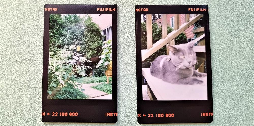photos Instax Mini 40 de Fujifilm