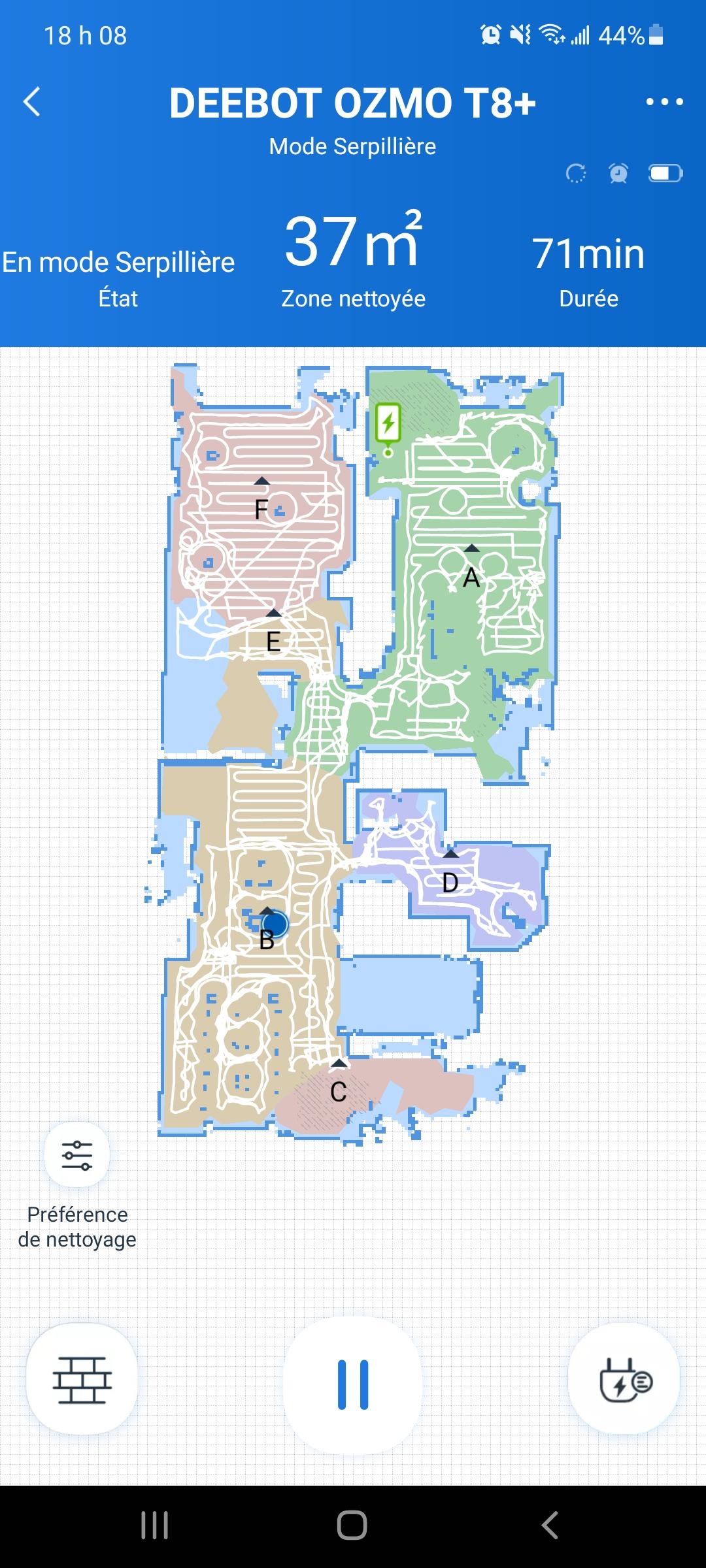 Plan de la maison Ecovacs Home
