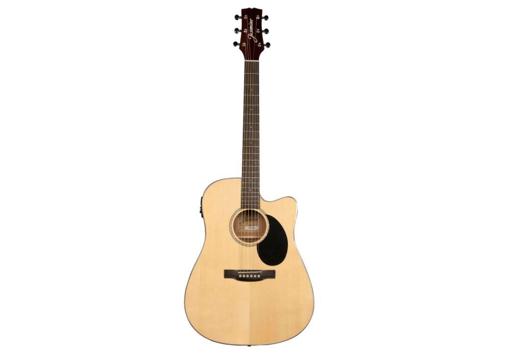La guitare acoustique/électrique Dreadnought de Jasmine