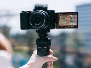 ZV-E10 idéale pour les vlogs
