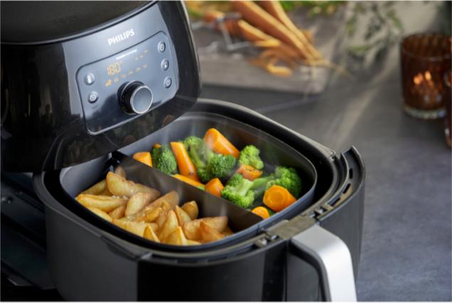La friteuse à air: idéale pour cuisiner des aliments sains