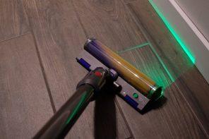 Laser de ka tête de nettoyage laser Slim Fluffy du Dyson V15 Detect