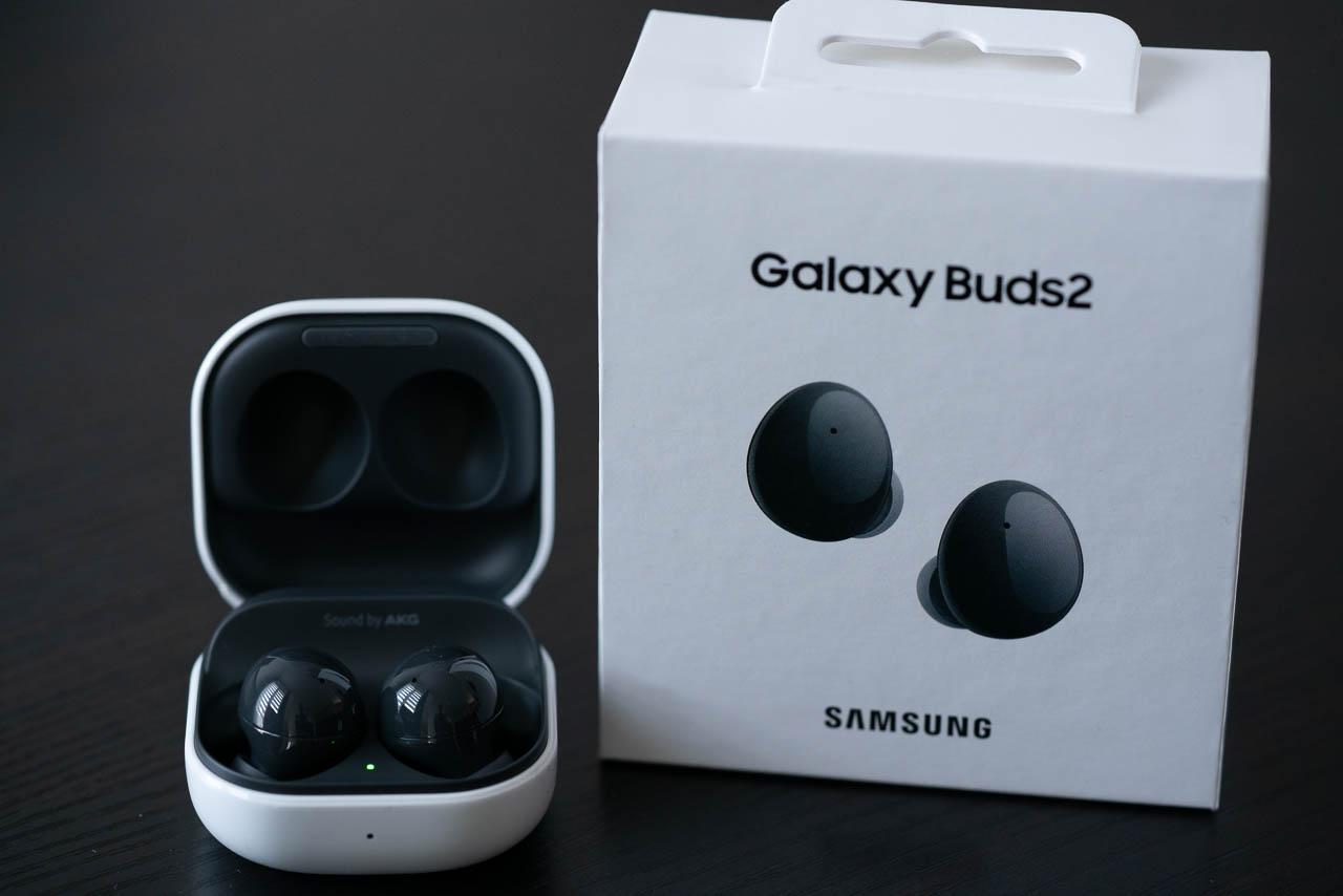 Galaxy Buds2 et sa boite
