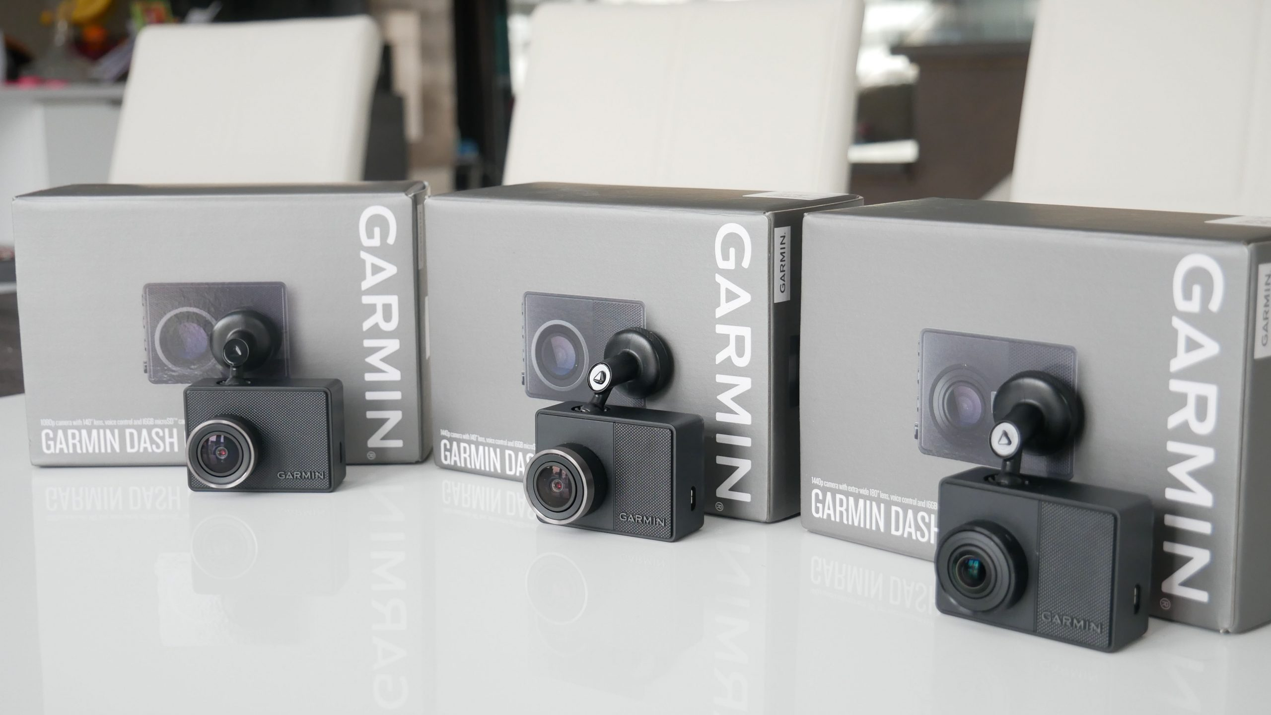 Image of 47,57 and 67W Dashcam from Garmin