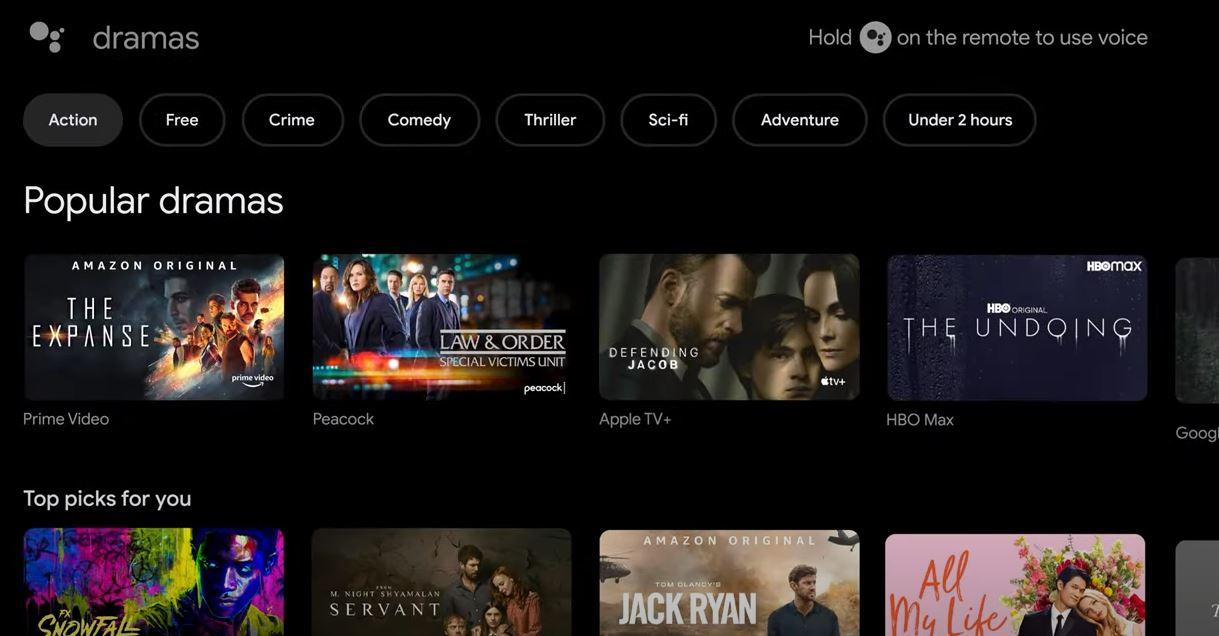 Téléviseur Sony avec Google TV