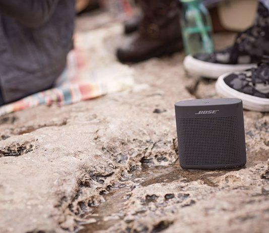 Haut-parleur Bluetooth portatif à la plage