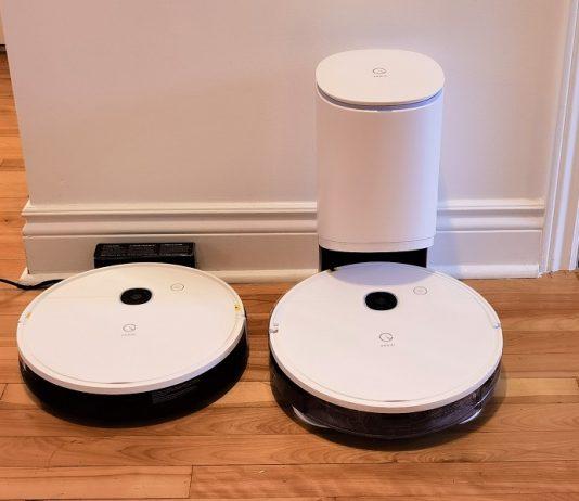 robots aspirateurs Yeedi Vac et Vac Station